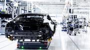 Audi e-tron GT (2021) : La production de la berline électrique débute