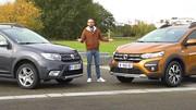 Nouvelle Dacia Sandero : elle affronte l'ancienne Sandero en vidéo