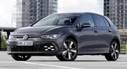 Volkswagen Golf 8 (2020) : Les prix des hybrides e-Hybrid et GTE