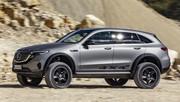 Mercedes EQC 4×4² Concept : il fallait oser