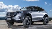 Mercedes EQC 4×4² concept : l'électrique peut être baroudeur
