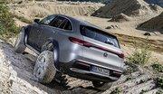 Mercedes EQC 4x4² : le tout-terrain électrique