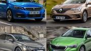 Les 20 voitures compactes qui consomment le moins