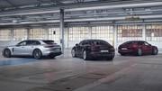 Porsche Panamera restylée : deux nouvelles hybrides rechargeables