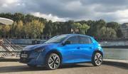 Combien peut-on réellement parcourir en Peugeot e-208 ?