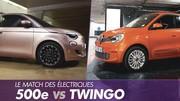 Fiat 500e vs Renault Twingo Electric : Duel de citadines électriques