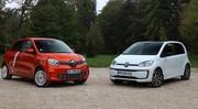 Comparatif – Renault Twingo Electric vs Volkswagen e-Up! : quel vieux pot fait la meilleure soupe ?