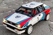 Une Lancia Delta Integrale en Lego