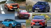 Quel SUV urbain choisir entre le Captur, 2008, Arona, Kamiq, C3 Aircross ?