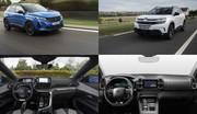 Peugeot 3008 ou Citroën C5 Aircross Hybrid 225 ch : lequel choisir selon nos mesures ?