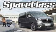 Renault Trafic Combi et SpaceClass : le voyage en 1er classe ou pas