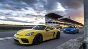 Essai BMW M2 CS vs Porsche 718 Cayman GT4 : manuelles d'utilisation