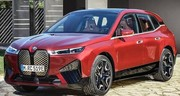 Le BMW iX électrique pointe le bout de son nez