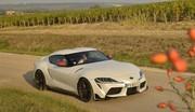 Road-trip vidéo en Toyota Supra 2.0 : entre vignes, villages et… virages