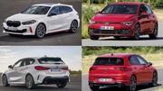 La nouvelle BMW 128ti face à la Golf 8 GTi