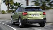 Audi SQ2 (2021). Restylage pour le petit SUV sportif