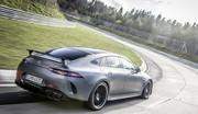 La Mercedes-AMG GT 4 portes bat la Porsche Panamera sur le Nürburgring