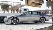 Lexus LS : les prix 2021 de la limousine hybride Japonaise