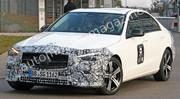 La Mercedes Classe C 2021 presque sans camouflage