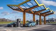 Ouverture de la première station de recharge Fastned en Belgique