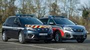 Voici les nouveaux Peugeot 5008 de la Police et de la Gendarmerie