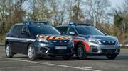 Des Peugeot 5008 pour la police et la gendarmerie