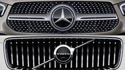 Mercedes et Volvo vont partager des moteurs hybrides