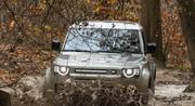 Essai Land Rover Defender 110 D240 : 100 000 € dans la boue et les ronces