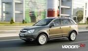 Opel Antara : Avec deux roues motrices de moins