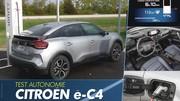 Essai Citroën ë-C4 : la vérité sur l'autonomie de la C4 électrique