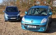 Essai Citroën Berlingo II 1.6 HDI et Renault Kangoo II 1.5 dCi : Laborieux et confortable
