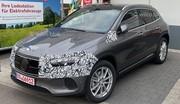Mercedes EQA (2021) : Le SUV compact électrique montre presque tout