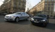 Essai Jaguar XF SV8 et Lexus IS F : Tenue de sport ou tenue de soirée ?