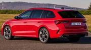 La nouvelle Skoda Octavia RS ne s'interdit rien. Hybride, diesel ou essence ?