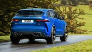 Jaguar dévoie le F-Pace SVR restylé