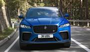 Jaguar F-Pace SVR : Quelques nouveautés pour 2021