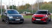 Essai Volkswagen Tiguan restylé VS Peugeot 3008 restylé : le combat des chefs