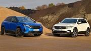 Essai Essai Peugeot 3008 Hybrid 225 vs Volkswagen Tiguan e-Hybrid : duel de PHEV