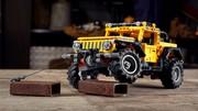 Pas moins de 665 pièces pour la Jeep Wrangler en version LEGO