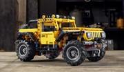 Voici le nouveau Jeep Wrangler Lego Technic