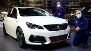Peugeot 308 : La dernière GTI est sortie de l'usine de Sochaux