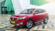 MG EHS : le SUV hybride rechargeable arrive en Europe