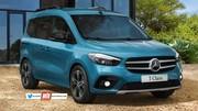 Futur Mercedes Classe T (2021) : le plus chic des petits utilitaires en approche