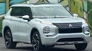 Le nouveau Mitsubishi Outlander est en fuite