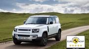 Euro NCAP : le Land Rover Defender 110 une nouvelle fois primé