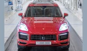 Porsche, 1 million de Cayenne vendus