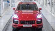 Porsche a produit un million de Cayenne
