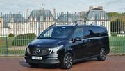 Essai Mercedes EQV 300 : luxe électrique