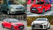 Toyota Yaris : sa carrière en 10 points