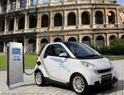 Les Smart électriques rouleront en Italie